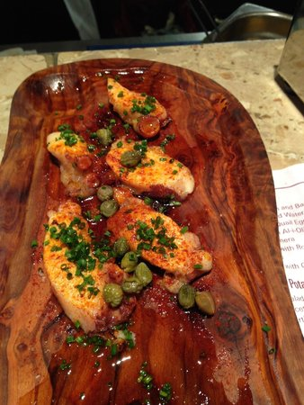 Barrafina : Octopus with Capers