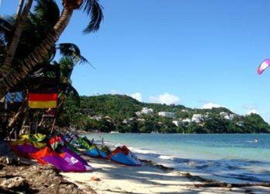 Bulabog Beach: Пляж