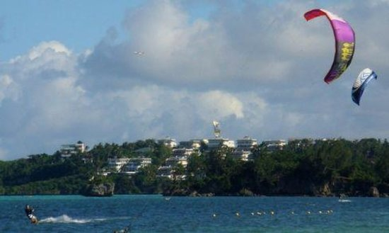 Bulabog Beach: Серфер