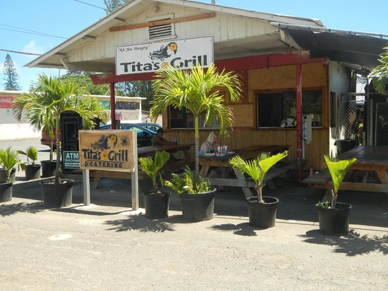 Tita's Grill & Catering : Great Food, great Aloha spirit