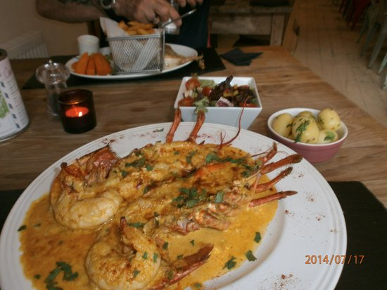 Gambas: Lobster