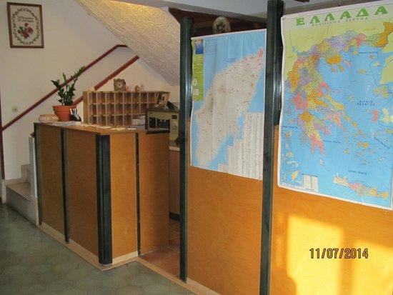 Hotel Kastelli: Reseption