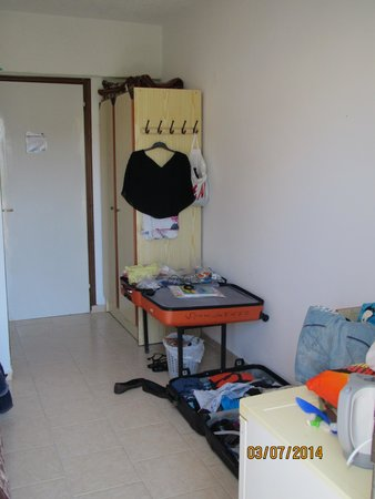 Hotel Kastelli: værelse