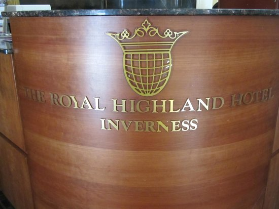 Royal Highland Hotel: entrada