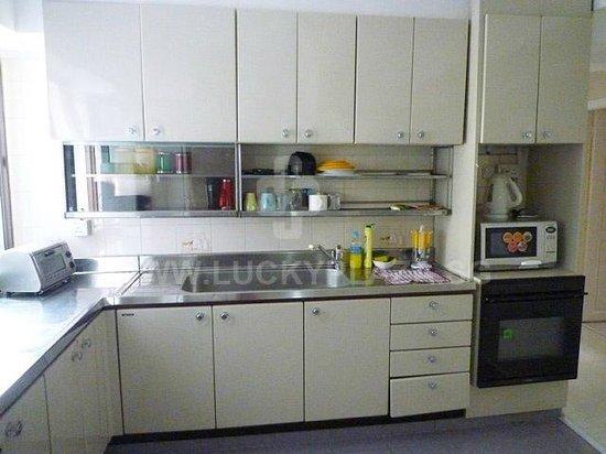 Budget Hotel: kitchen