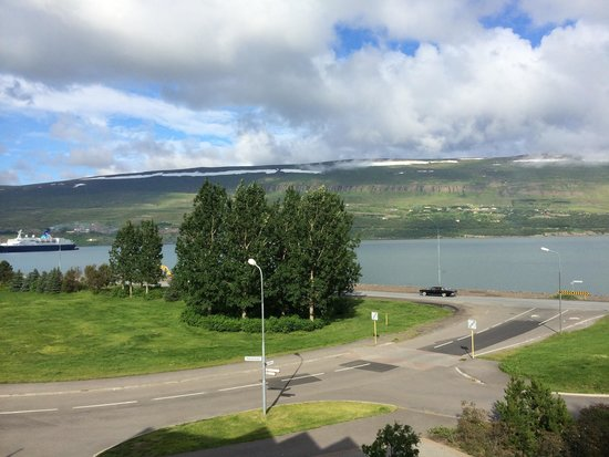 Hotel Akureyri: View from my room