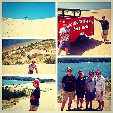 Mac Wood's Dune Rides : Thanks for a great day MW !