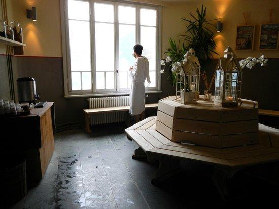 sala ristoro - Foto di Bagni Vecchi Di Bormio, Sondrio - TripAdvisor