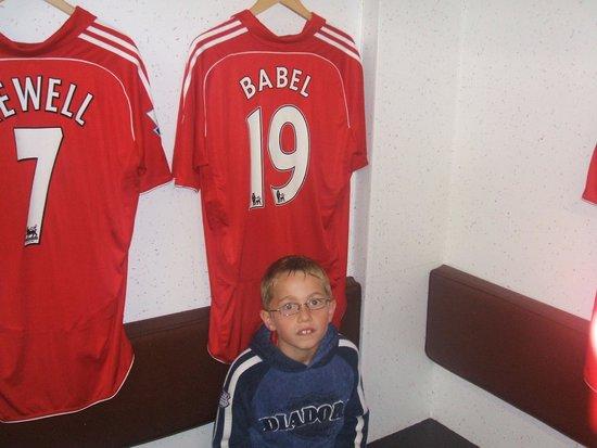 Anfield Stadium: .