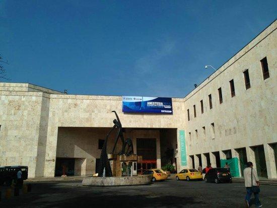 Centro de Convenciones Cartagena de Indias: Entrada principal