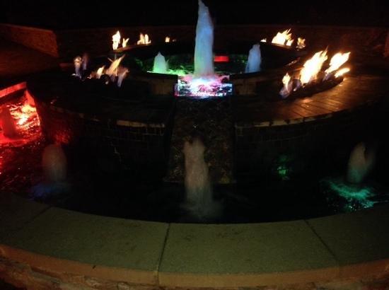 JW Marriott Marco Island Beach Resort: fountain at night
