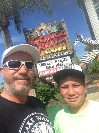 Congo River Golf: My son and I