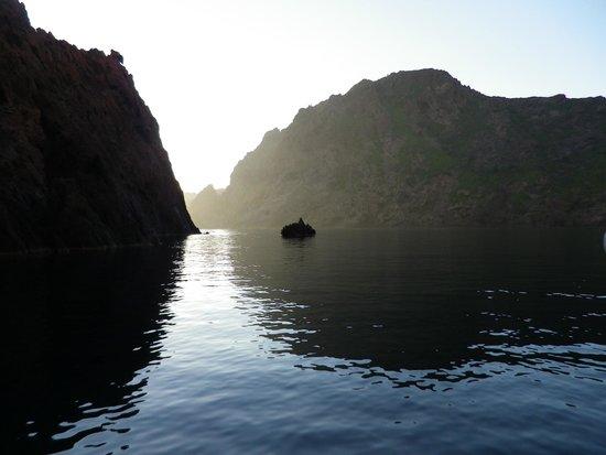 Corse Adrénaline : couché de soleil