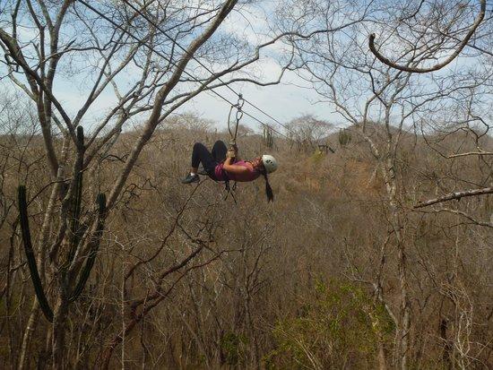 Huana Coa Canopy Adventure: Tirolesa