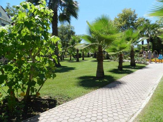 Club Tuana Fethiye: Grounds
