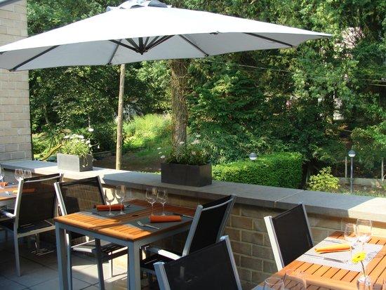 Le Morimont: Terrasse