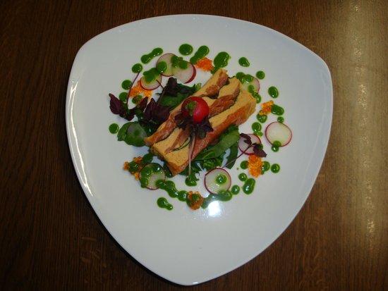 Le Morimont: Bavarois de homard et saumon