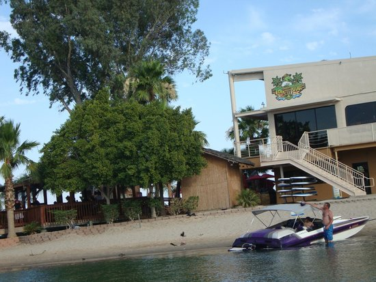 The Nautical Beachfront Resort: The Turtle Grill & Turtle Beach Bar