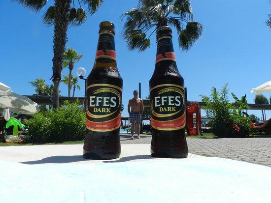 Club Tuana Fethiye: Beer (Dark)