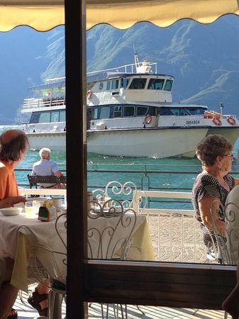 Hotel all`Azzurro: view at breakfast from restaurant, what better way to start your day.