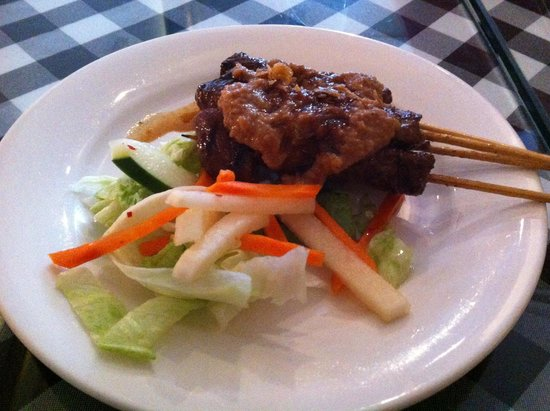 Bali Nusa Indah Restaurant: Beef Satay