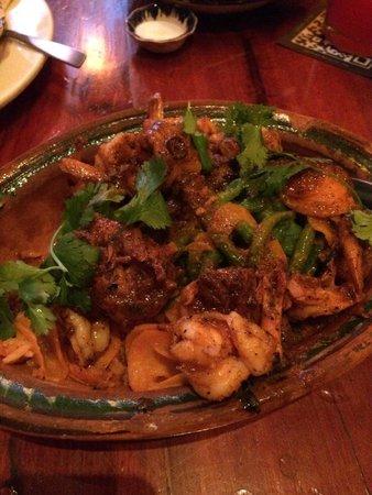 Joe Jack's Fish Shack: Garlic shrimp - yum!