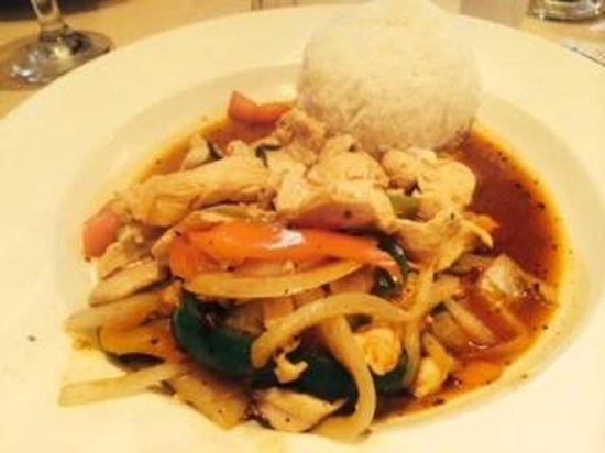 Mark at the wok! - Foto di Noodle World, Stuart - TripAdvisor
