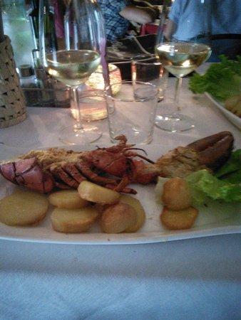 Santa Felicita: homard gratiné