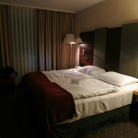 NH Budapest City: la cama
