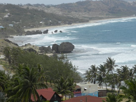 Bathsheba Beach: As famosas pedras
