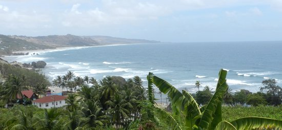 Bathsheba Beach: vista panoramica