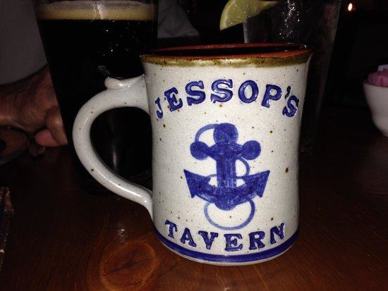 Jessop's Tavern: Yard's George Washington:  Porter made with dark malt and molasses.  I really liked it.