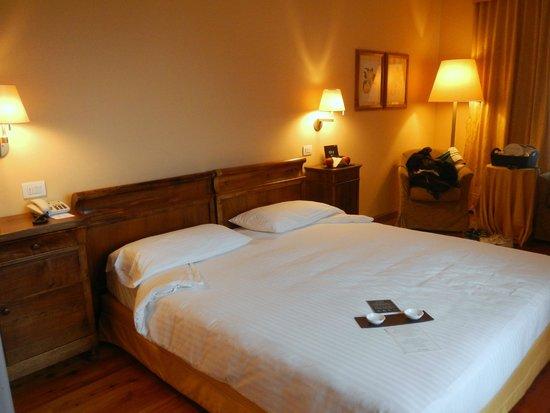 Grand Hotel Bagni Nuovi: La camera