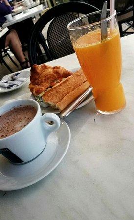 La Samaritaine : Petit-déjeuner !