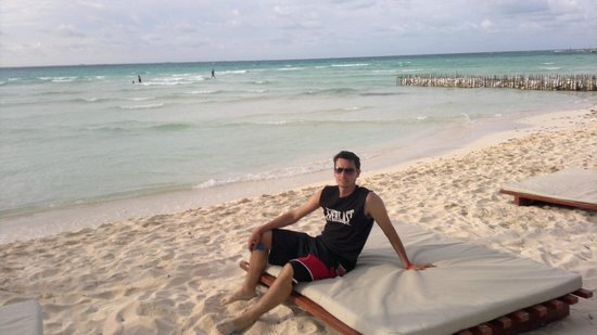 Playa Norte: Disfrutando