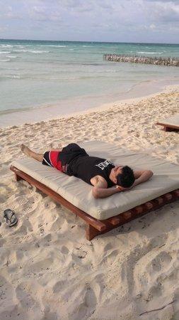 Playa Norte: Un descanso