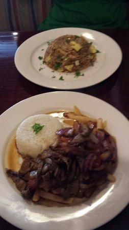 Aji Peruvian Restaurant: Lomo Saltado