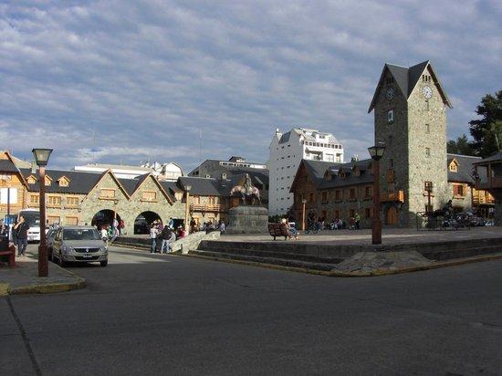 Centro Civico: Bariloche-Vista al Centro Cívico