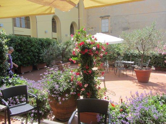 Silla Hotel: Terrace