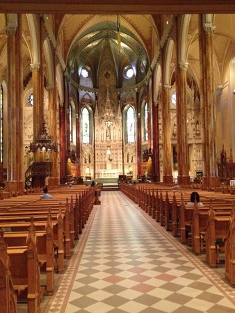 St. Patrick's Basilica : Beautiful and holy St Patrick's in Montreal