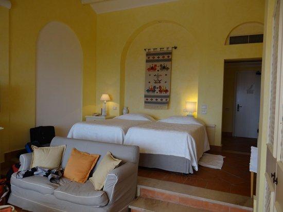 Forte Village Resort - Hotel Castello: Our lovely room.
