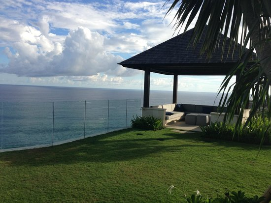 The Ungasan Clifftop Resort: Villa Nora's look out