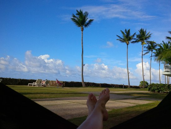 The Condado Plaza Hilton: hammocks!