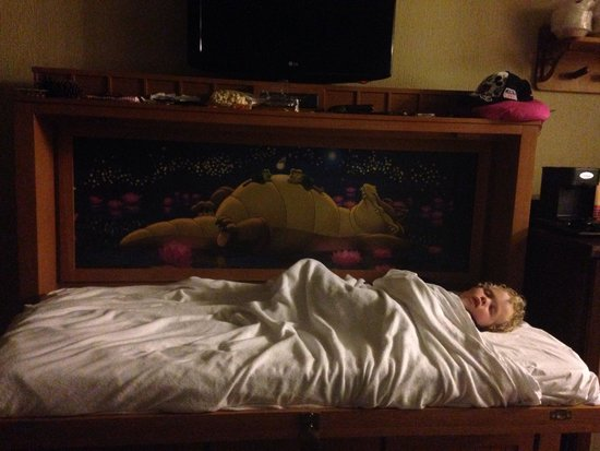 Disney's Port Orleans Resort - Riverside: Murphy bed