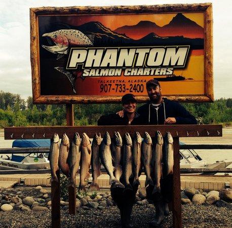 Phantom-Tri River Charters : Fish On!!