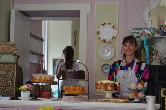 Finnegan's Hostel : Très beau buffet de desserts