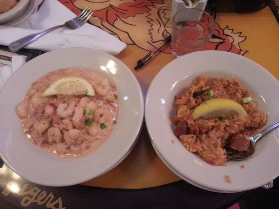 Henry's Louisiana Grill: Theres are the half size portions