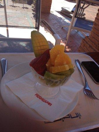 Hotel Les Jardins de l'Agdal : Dessert