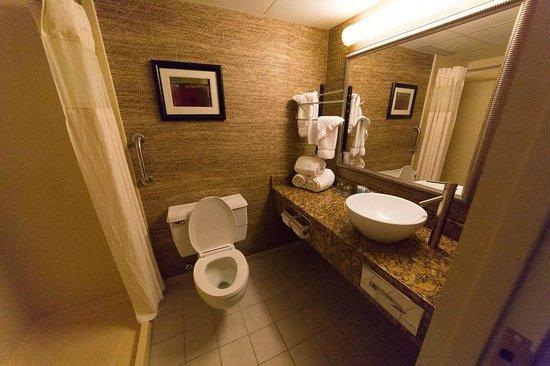 Wyndham Garden Glen Mills Wilmington: Bathroom