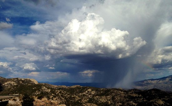 Mt. Lemmon Scenic Byway: The little cloud that could